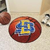South Dakota State Basketball Mat 27 diameter
