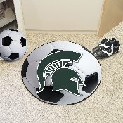 Michigan State Soccer Ball