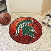 Michigan State Basketball Mat 27 diameter