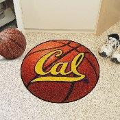 UC Berkeley Basketball Mat 27 diameter