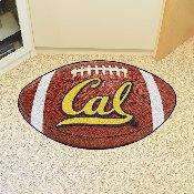 UC Berkeley Football Rug 20.5x32.5