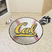 UC Berkeley Baseball Mat 27 diameter