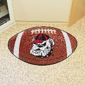Georgia Bulldogs Football Rug 20.5x32.5