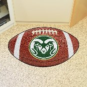 Colorado State Football Rug 20.5x32.5
