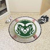 Colorado State Baseball Mat 27 diameter