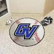 Grand Valley State Baseball Mat 27 diameter