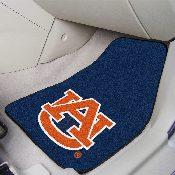 Auburn University 2-piece Carpeted Car Mats 17x27