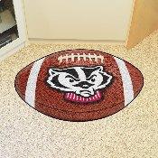 Wisconsin Football Rug 20.5x32.5