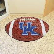 Kentucky Football Rug 20.5x32.5