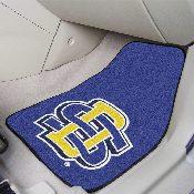 South Dakota State 2-pc Printed Carpet Car Mat Set