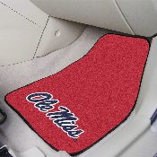Mississippi 2-piece Carpeted Car Mats 17x27