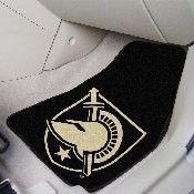 US Military Academy 2-piece Carpeted Car Mats 17x27