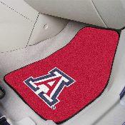Arizona 2-piece Carpeted Car Mats 17x27