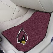 NFL - Arizona Cardinals 2-piece Carpeted Car Mats 17x27