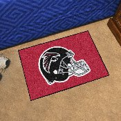 NFL - Atlanta Falcons Starter Rug 19x30 - Black