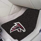 NFL - Atlanta Falcons 2-piece Carpeted Car Mats 17x27
