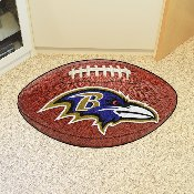NFL - Baltimore Ravens Football Rug 20.5x32.5