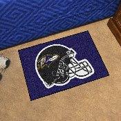 NFL - Baltimore Ravens Starter Rug 19x30