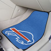 NFL - Buffalo Bills 2-piece Carpeted Car Mats 17x27