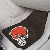 NFL - Cleveland Browns 2-piece Carpeted Car Mats 17x27