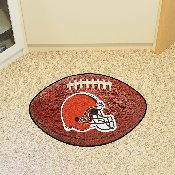 NFL - Cleveland Browns Football Rug 20.5x32.5