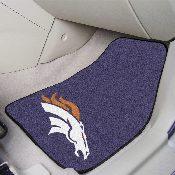 NFL - Denver Broncos 2-piece Carpeted Car Mats 17x27