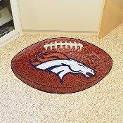 NFL - Denver Broncos Football Rug 20.5x32.5