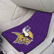 NFL - Minnesota Vikings 2-piece Carpeted Car Mats 17x27