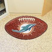 NFL - Miami Dolphins Football Rug 20.5x32.5