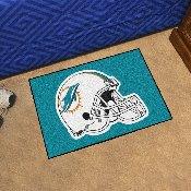 NFL - Miami Dolphins Starter Rug 19x30