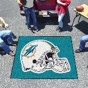 NFL - Miami Dolphins Tailgater Rug 5'x6'