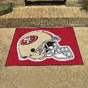 NFL - San Francisco 49ers All-Star Mat 33.75x42.5