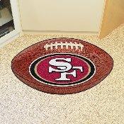 NFL - San Francisco 49ers Football Rug 20.5x32.5