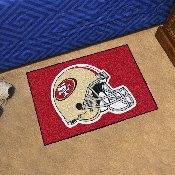 NFL - San Francisco 49ers Starter Rug 19x30