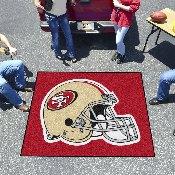 NFL - San Francisco 49ers Tailgater Rug 5'x6'