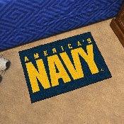 Navy Starter Rug 19x30