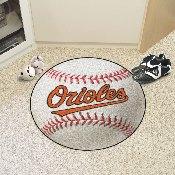 MLB - Baltimore Orioles Baseball Mat 27 diameter