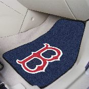 MLB - Boston Red Sox 2-piece Carpeted Car Mats 17x27