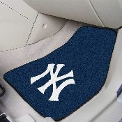 MLB - New York Yankees 2-piece Carpeted Car Mats 17x27