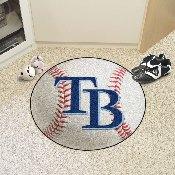 MLB - Tampa Bay Rays Baseball Mat 27 diameter