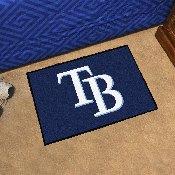 MLB - Tampa Bay Rays Starter Rug 19x30