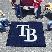 MLB - Tampa Bay Rays Tailgater Rug 5'x6'