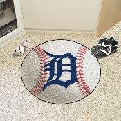 MLB - Detroit Tigers Baseball Mat 27 diameter