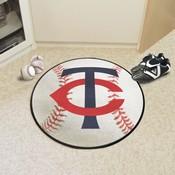 MLB - Minnesota Twins Baseball Mat 27 diameter
