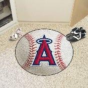 MLB - Los Angeles Angels Baseball Mat 27 diameter