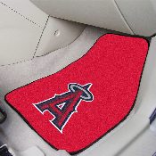 MLB - Los Angeles Angels 2-piece Carpeted Car Mats 17x27