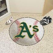 MLB - Oakland Athletics Baseball Mat 27 diameter