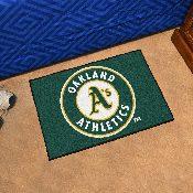 MLB - Oakland Athletics Starter Rug 19x30