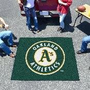 MLB - Oakland Athletics Tailgater Rug 5'x6'