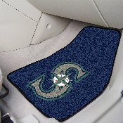 MLB - Seattle Mariners 2-piece Carpeted Car Mats 17x27